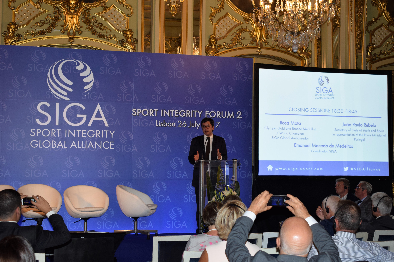 Fundação do Desporto, membro da Sport Integrity Global Alliance, integra 2ª edição do Fórum SIGA