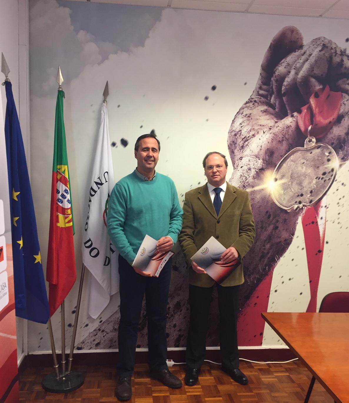 A Fundação do Desporto apoia a obra de António Vasconcelos Raposo