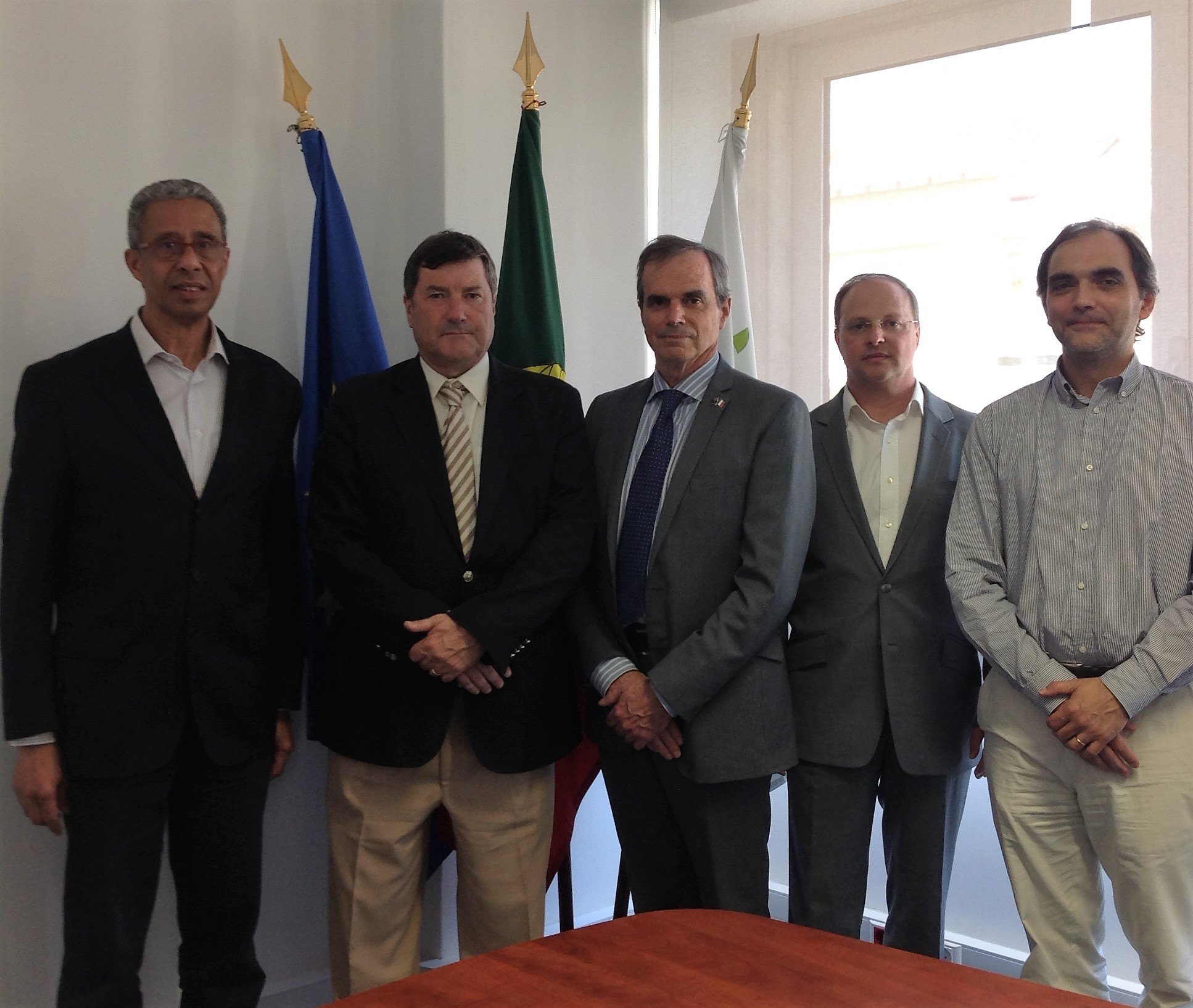 Warwick Forbes – Head of AIS Europe visita CAR do Jamor, Rio Maior e Montemor-o-Velho