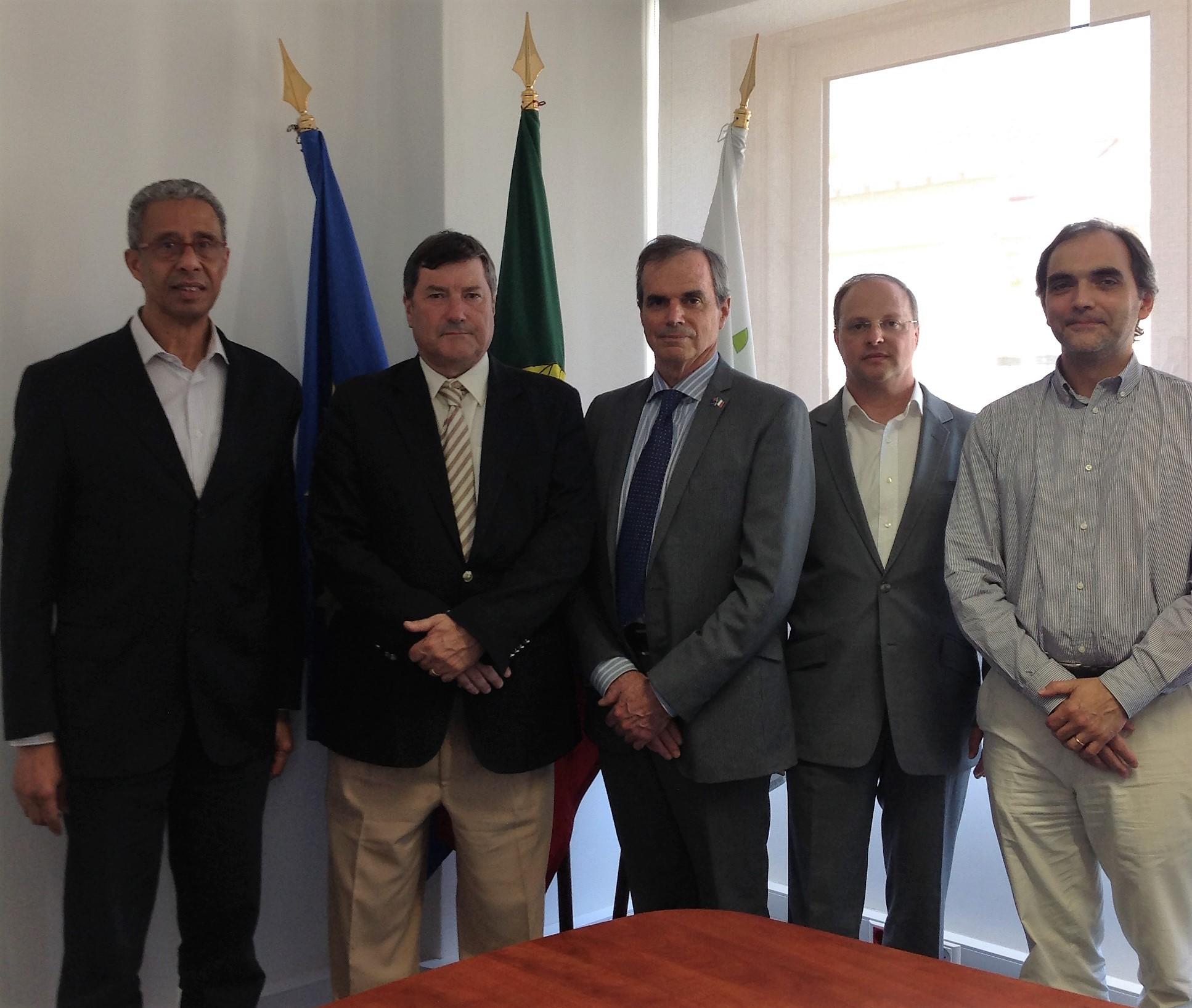 Warwick Forbes – Head of AIS Europe visita CAR do Jamor, Rio Maior e Montemor-o-Velho