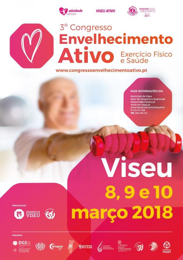 3º Congresso de Envelhecimento Ativo: Exercício Físico e Saúde tem o apoio da Fundação do Desporto