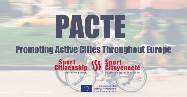 Fundação do Desporto integra Project PACTE – Promoting Active Cities Through Europe