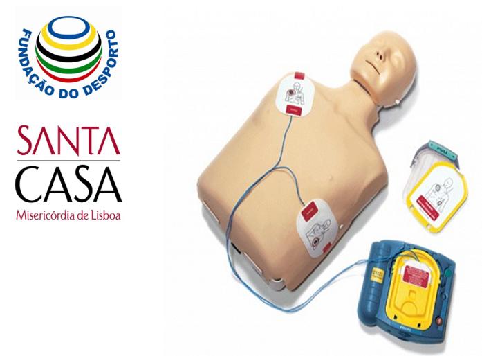 Fundação do Desporto e Santa Casa da Misericórdia de Lisboa promovem saúde e segurança nos Centros de Alto Rendimento