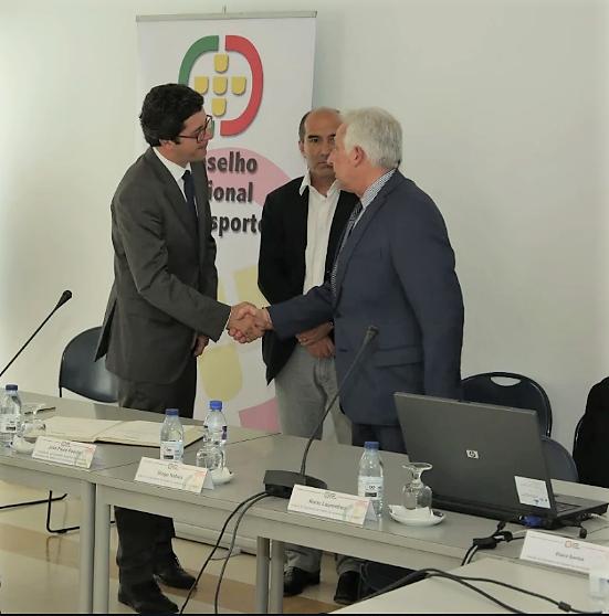 Presidente do Conselho de Administração da Fundação do Desporto integra Conselho Nacional do Desporto