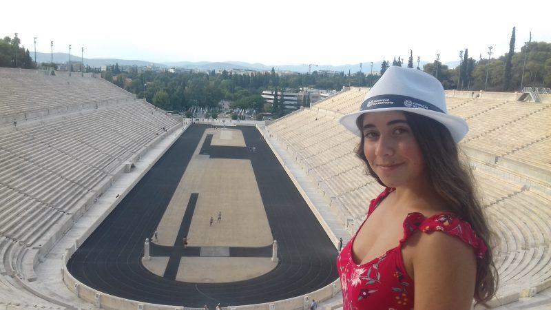 """Isabela Quadrado venceu o Concurso Literário """"A Ética na Vida e no Desporto"""" e uma viagem a Atenas!"""