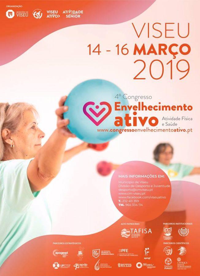4º Congresso de Envelhecimento Ativo: Atividade Física e Saúde