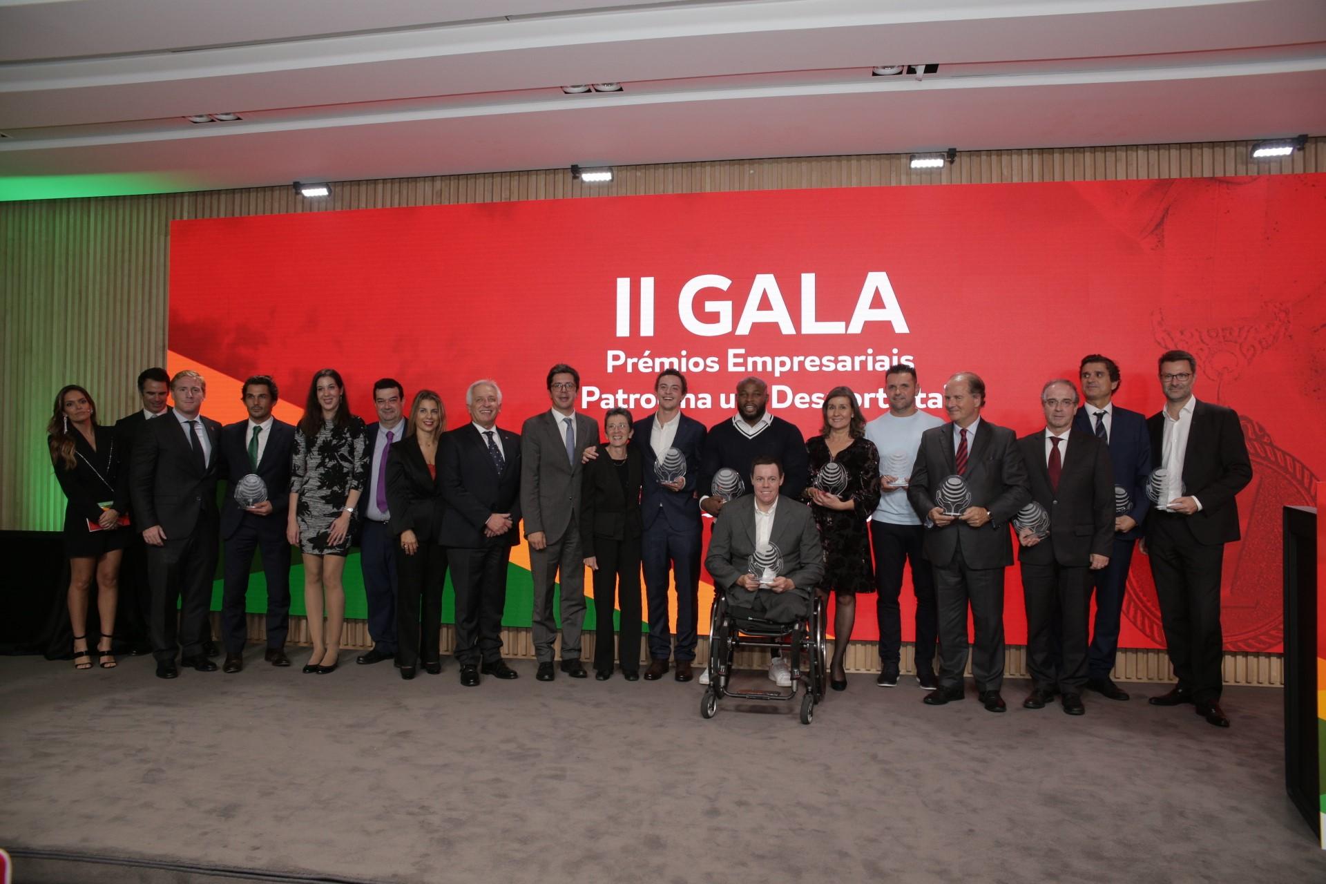 II Gala de Prémios Empresariais da Fundação do Desporto
