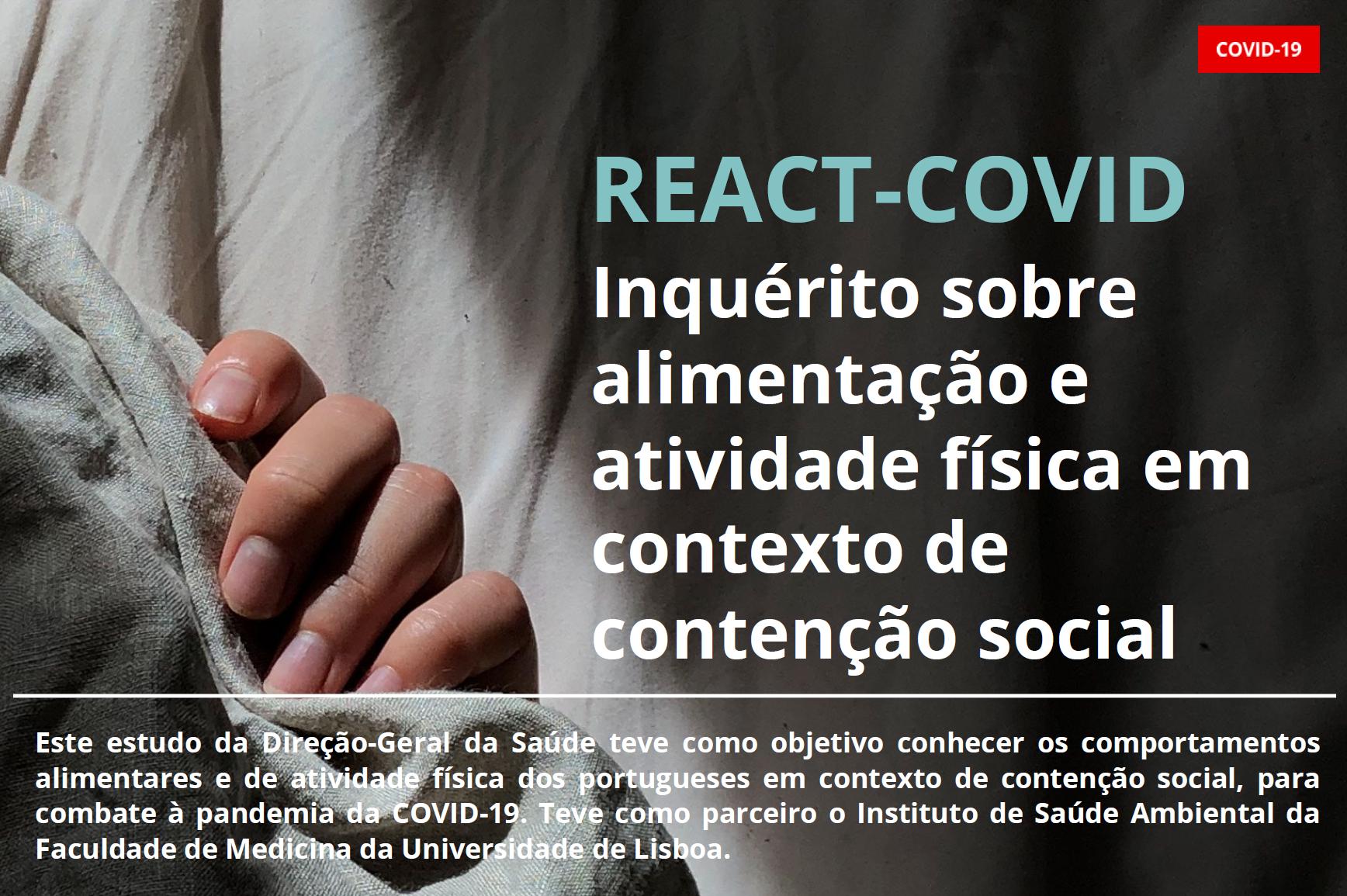 Hábitos de Atividade Física e Alimentares em Contexto de Contenção Social