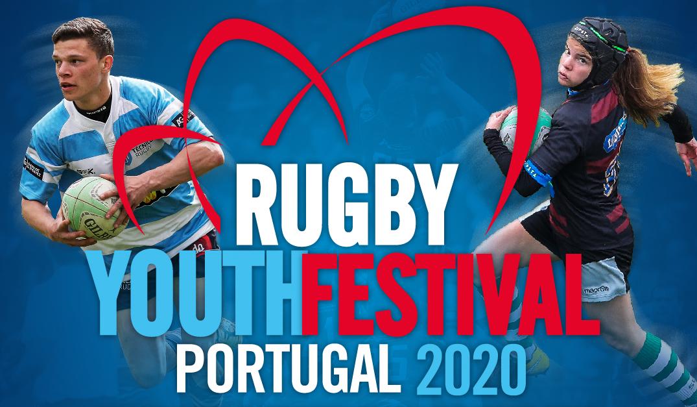 Portugal Rugby Youth Festival 2020 com o apoio da Fundação do Desporto