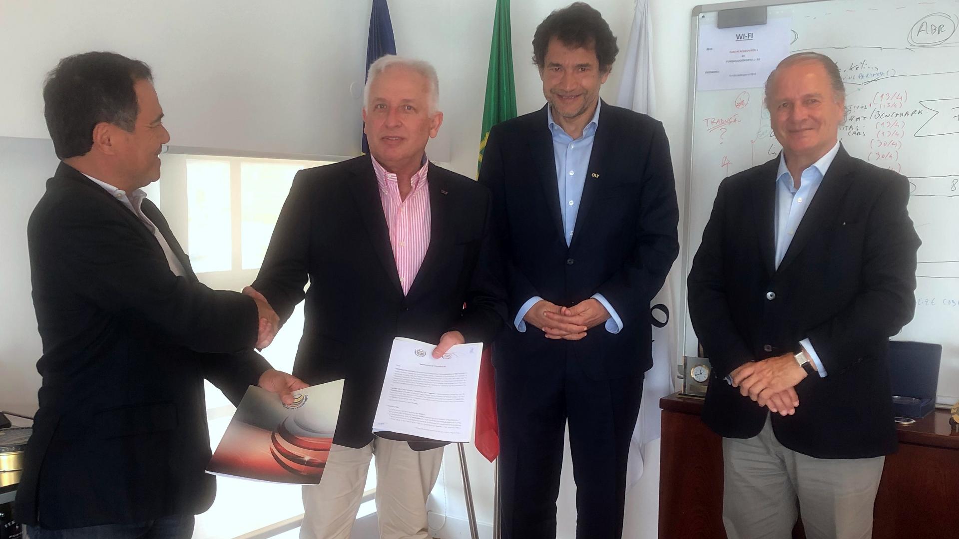 Fundação do Desporto e AAOP celebram Protocolo de Cooperação