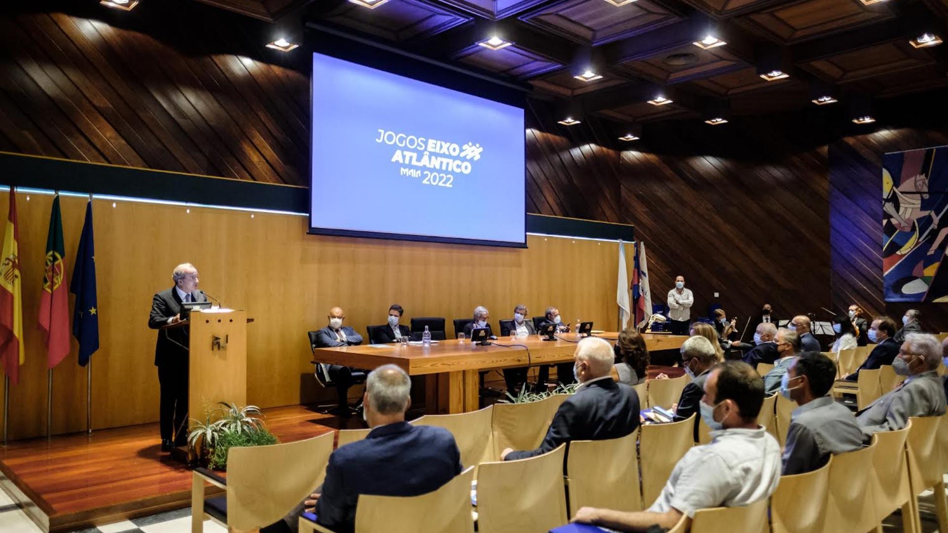 Câmara da Maia recebe bandeira dos Jogos do Eixo Atlântico 2022