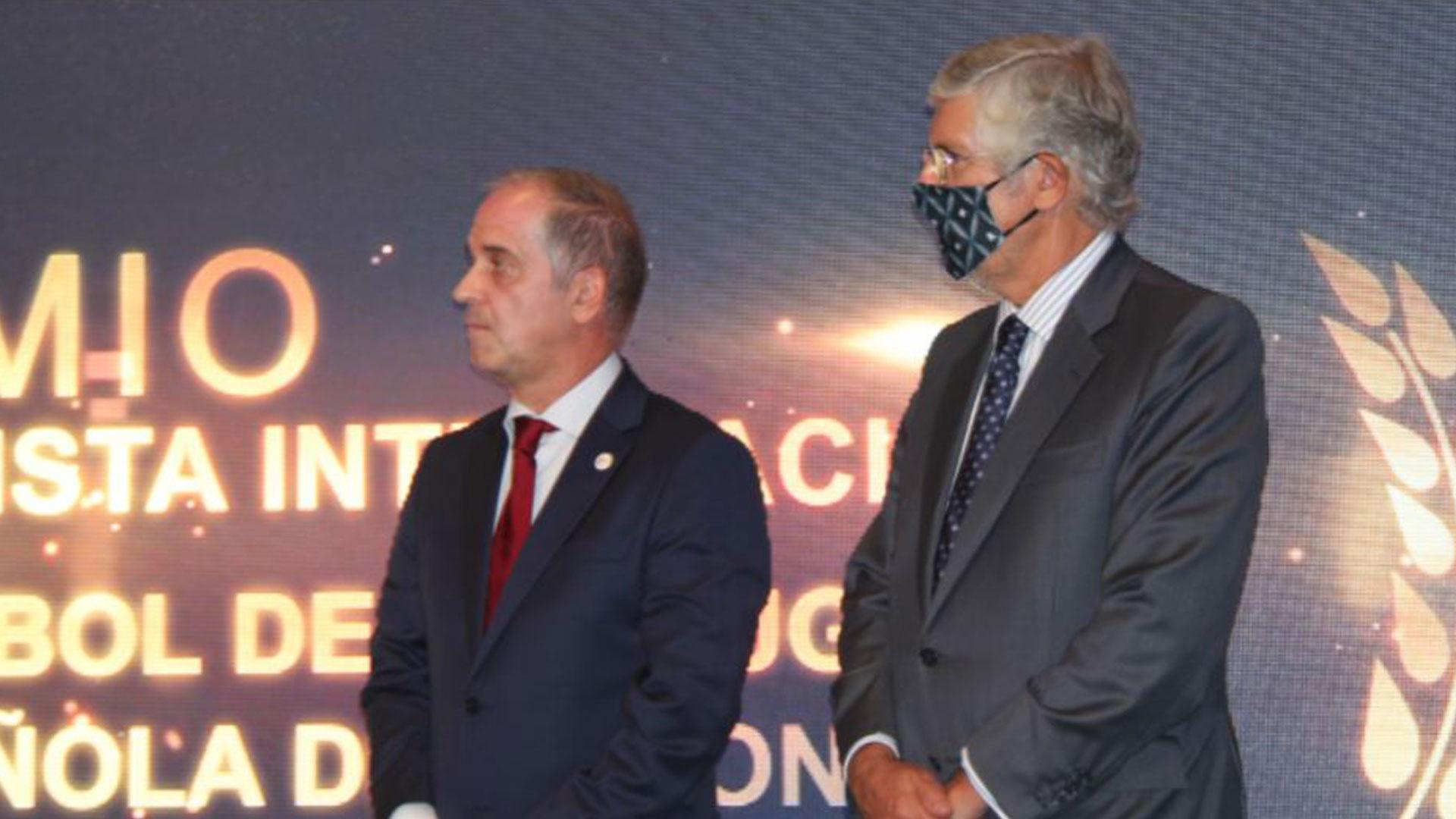 Federação de Andebol distinguida em Espanha