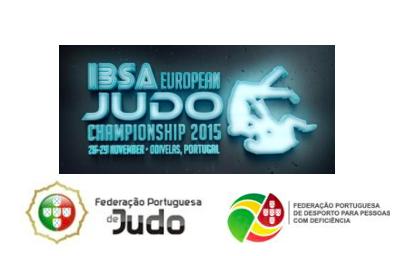 IBSA European Judo Championship 2015: em Odivelas de 27 a 29 de Novembro