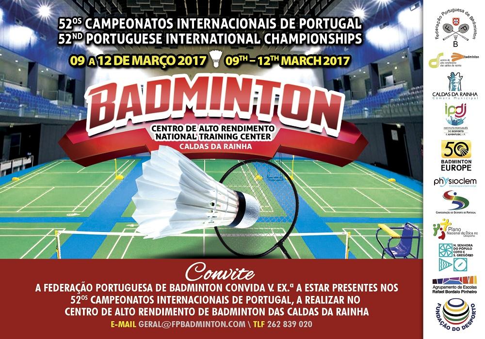 52º's Campeonatos Internacionais de Portugal no CAR de Caldas da Rainha