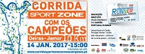Corrida Sport Zone com os Campeões conta com o apoio da Fundação do Desporto