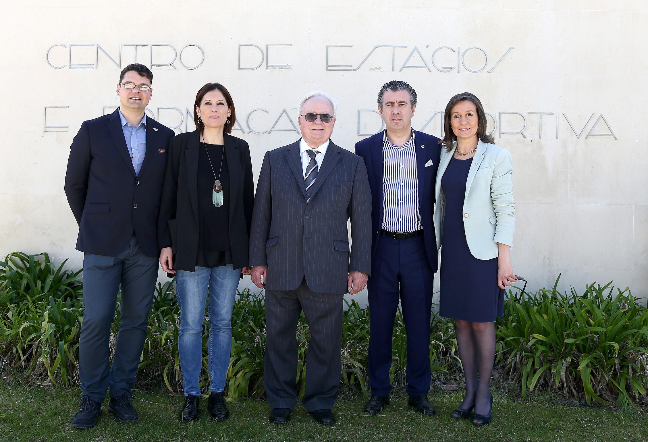 Município da Nazaré, Escola de Desporto de Rio Maior e Politécnico de Santarém formalizam parceria no âmbito do desporto