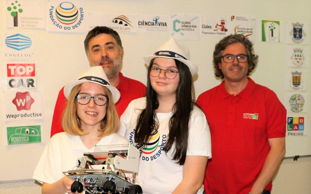Fundação do Desporto leva jovens ao European RoboCup