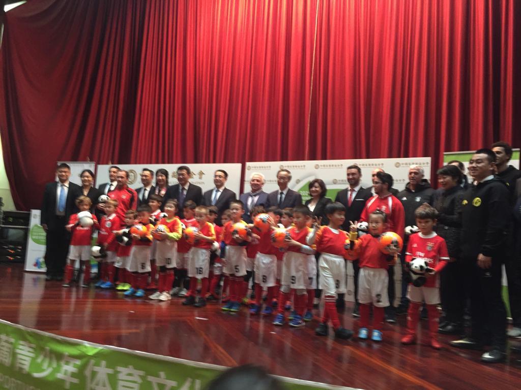 A Fundação do Desporto associou-se à China Soong Ching Ling Foundation