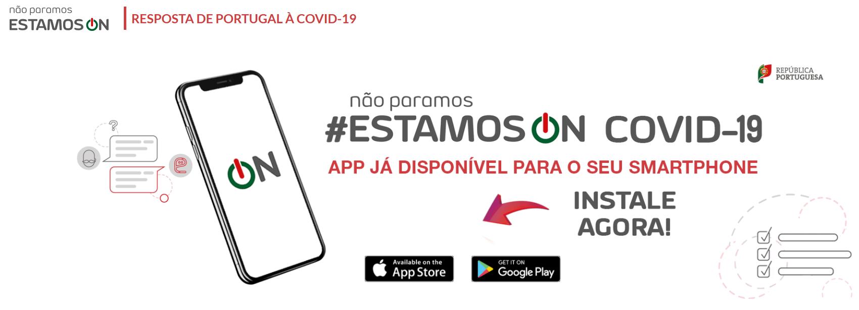 #EstamosON – Toda a informação útil num só Portal