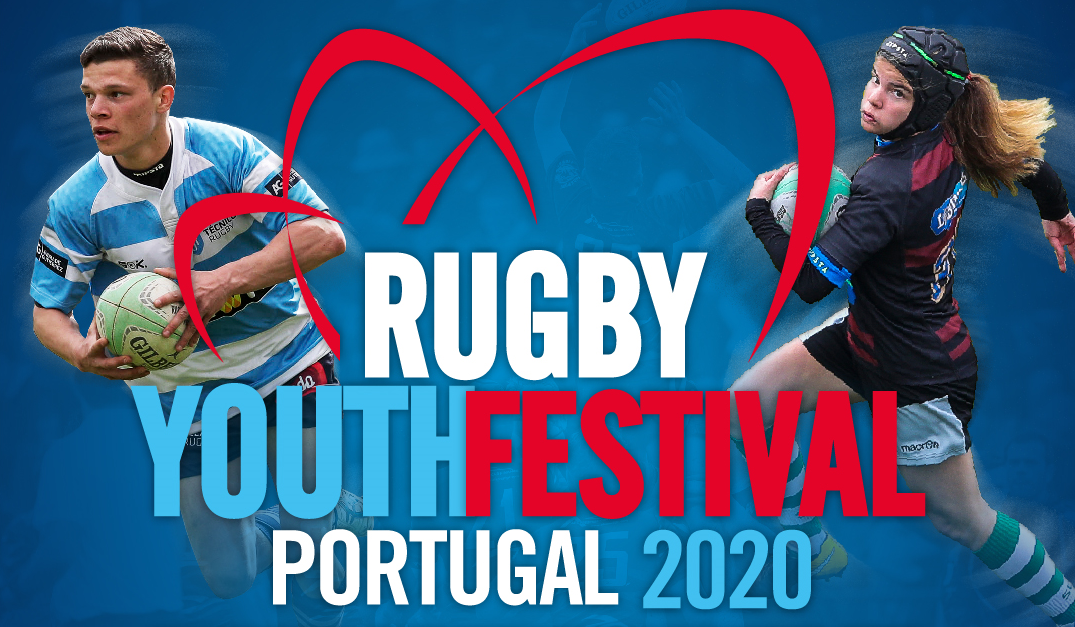 Portugal Rugby Youth Festival 2020 com o apoio da Fundação do Desporto