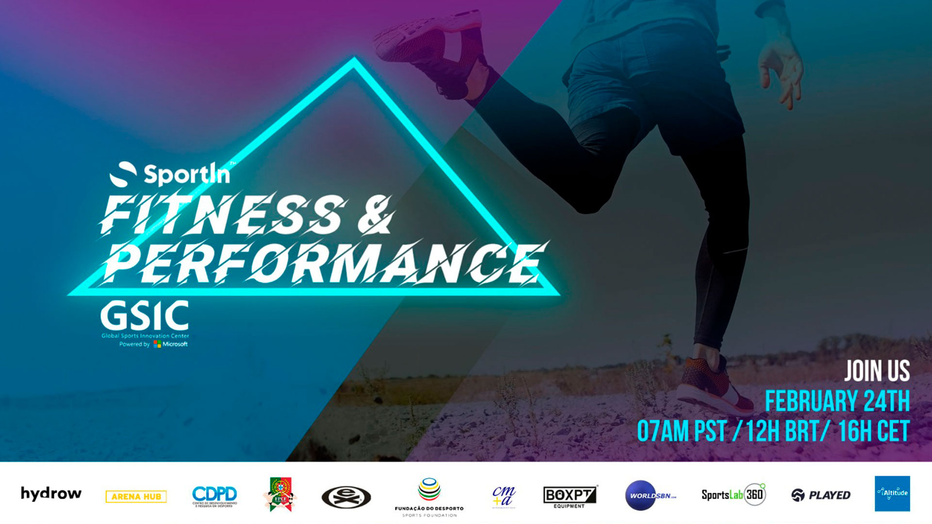 Conferência SportIn Global Summit: Fitness & Performance a 24 de fevereiro