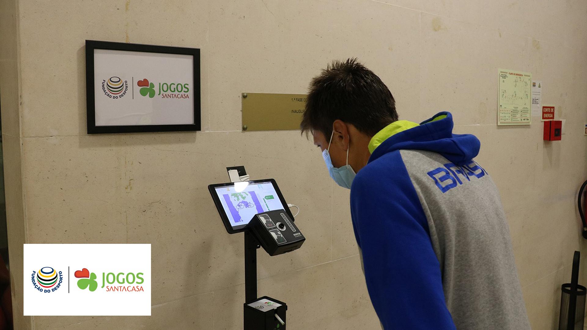 COVID-19: Fundação do Desporto e Jogos Santa Casa fornecem equipamentos aos Centros de Alto Rendimento