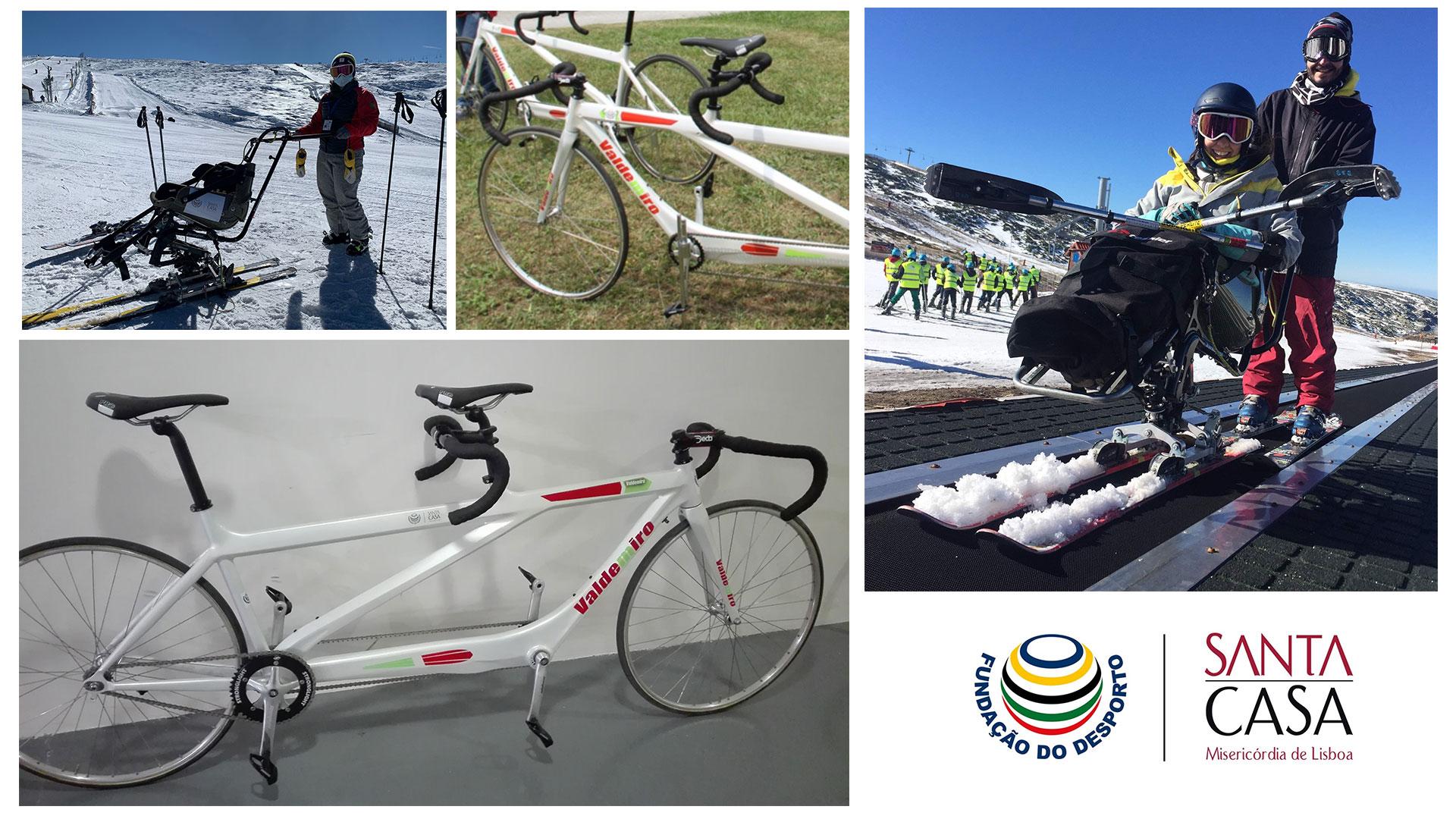 Fundação e SCML apoiam projetos de Paraciclismo e Esqui Adaptado