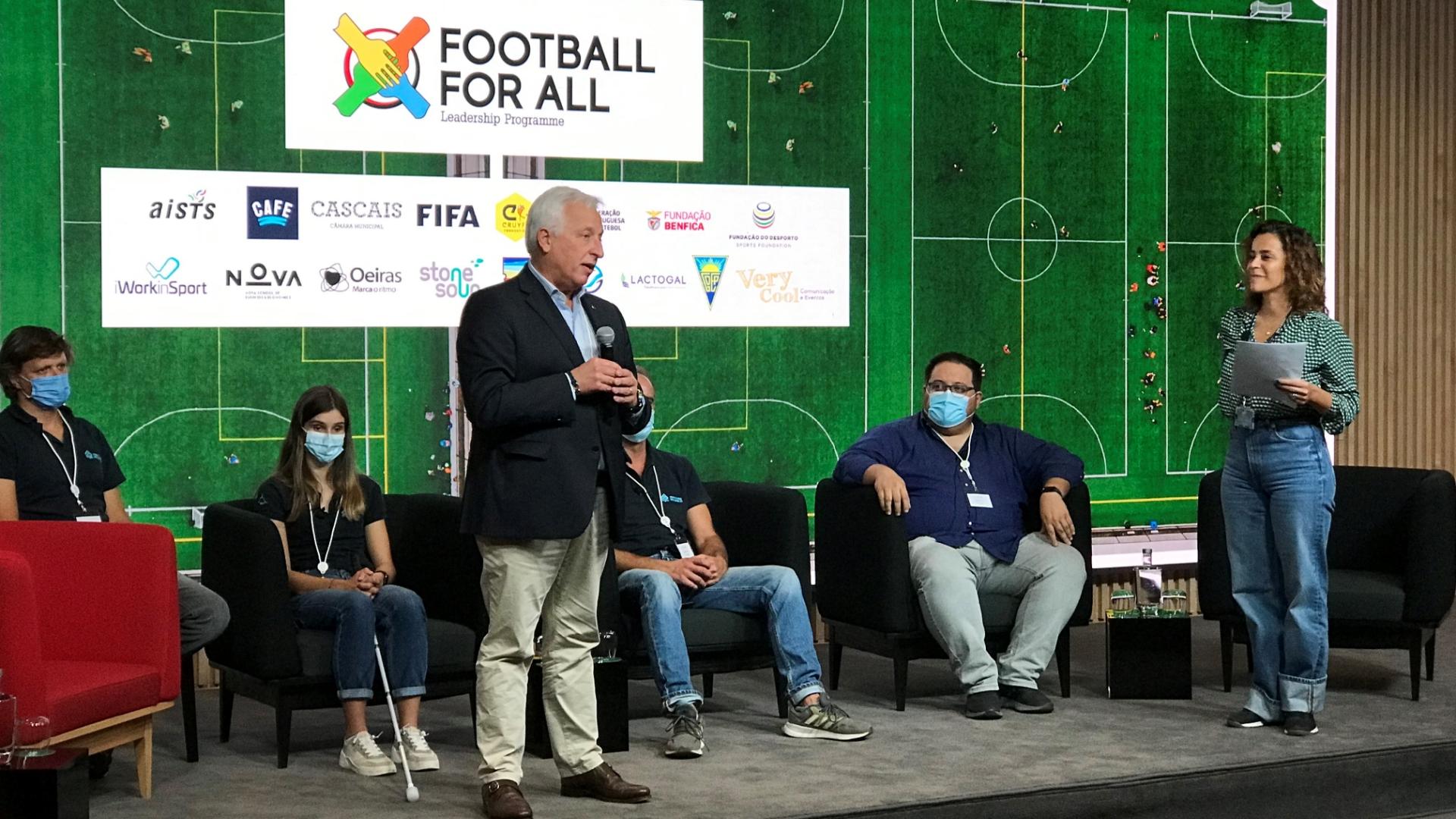 "FdD apoiou programa ""Football for All Leadership"""
